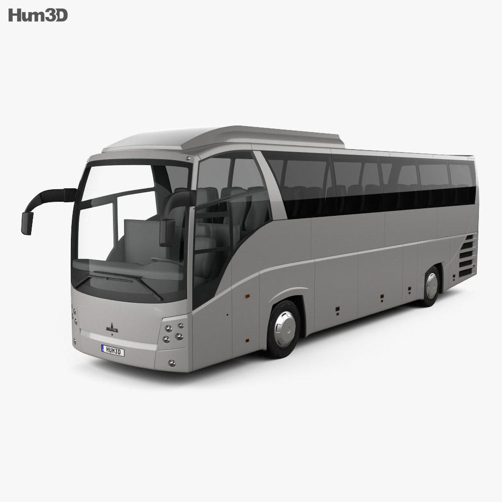 MAZ 251062 Bus 2016 3d model