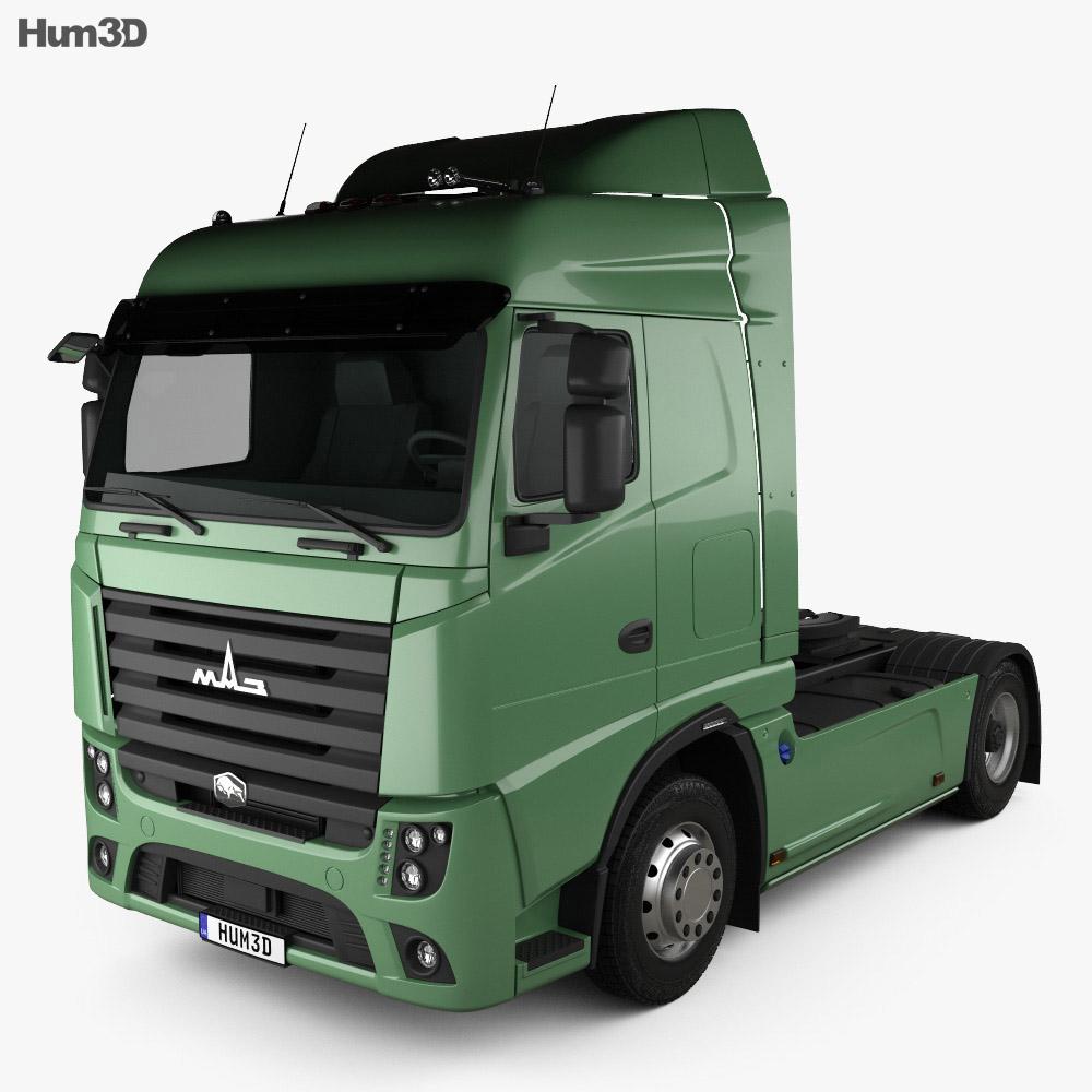 MAZ 5440 M9 Tractor Truck 2015 3d model
