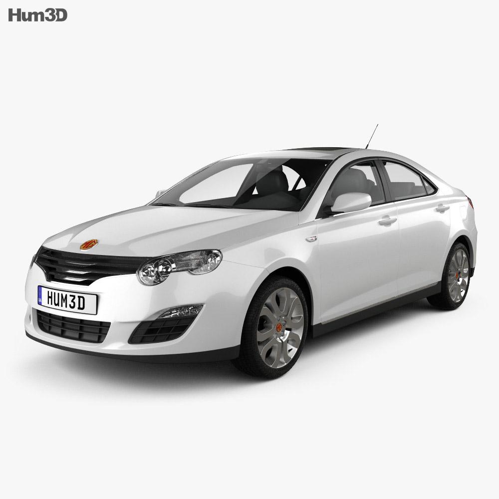 MG 550 2012 3d model