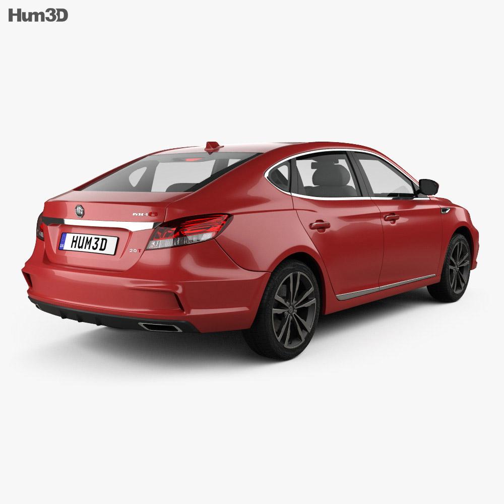MG 6 2017 3d model