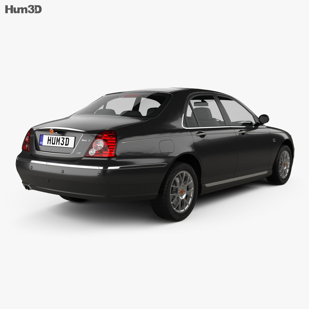 MG 7 2008 3d model