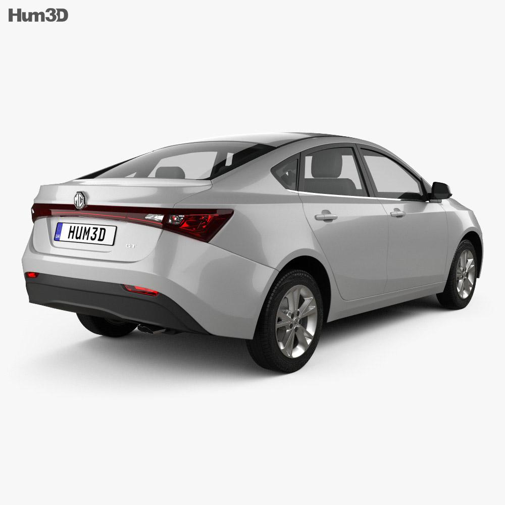 MG GT 2015 3d model