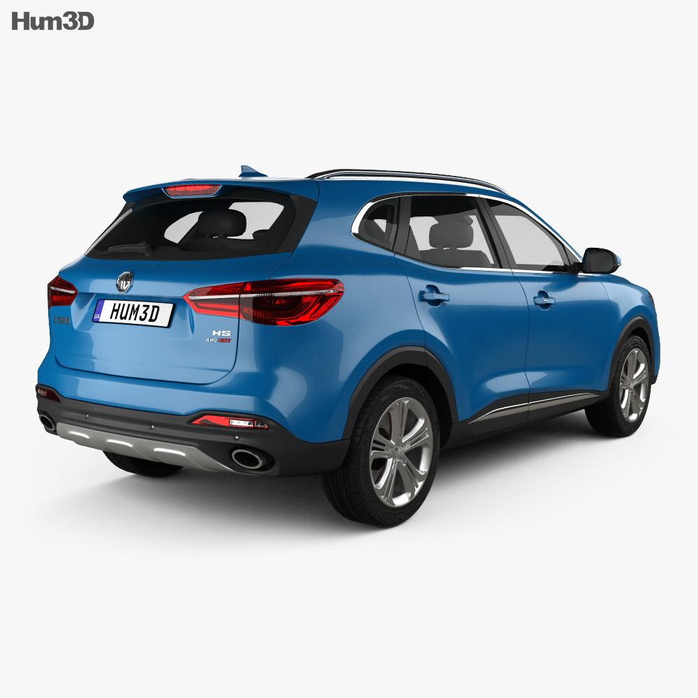 MG HS 2018 3d model