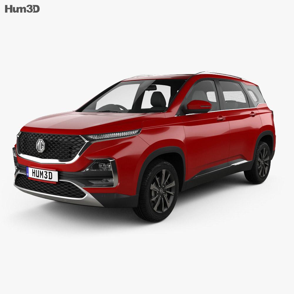 MG Hector 2019 3d model