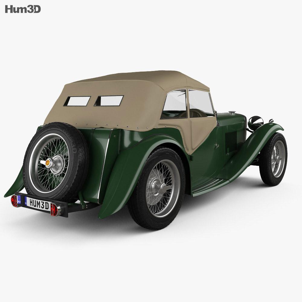 MG TC Midget 1945 3d model
