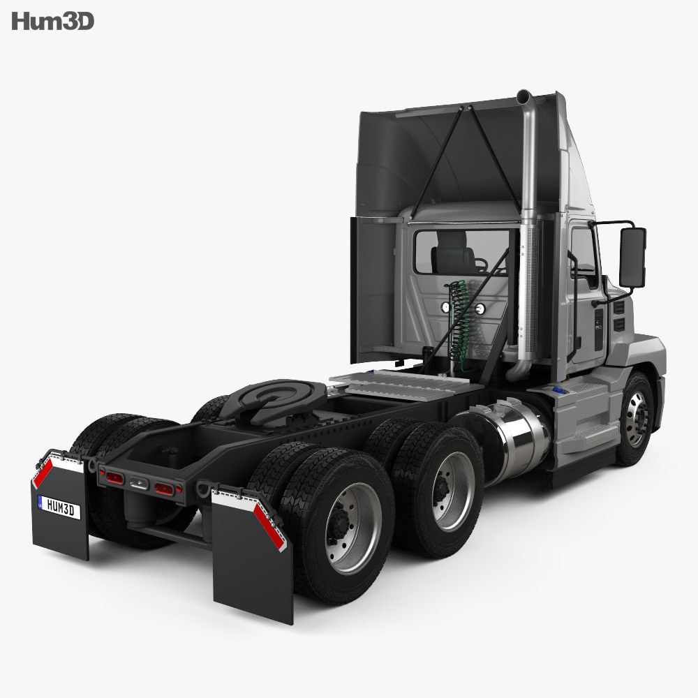 Mack Anthem Day Cab High Rise Tractor Truck 2018 3d model