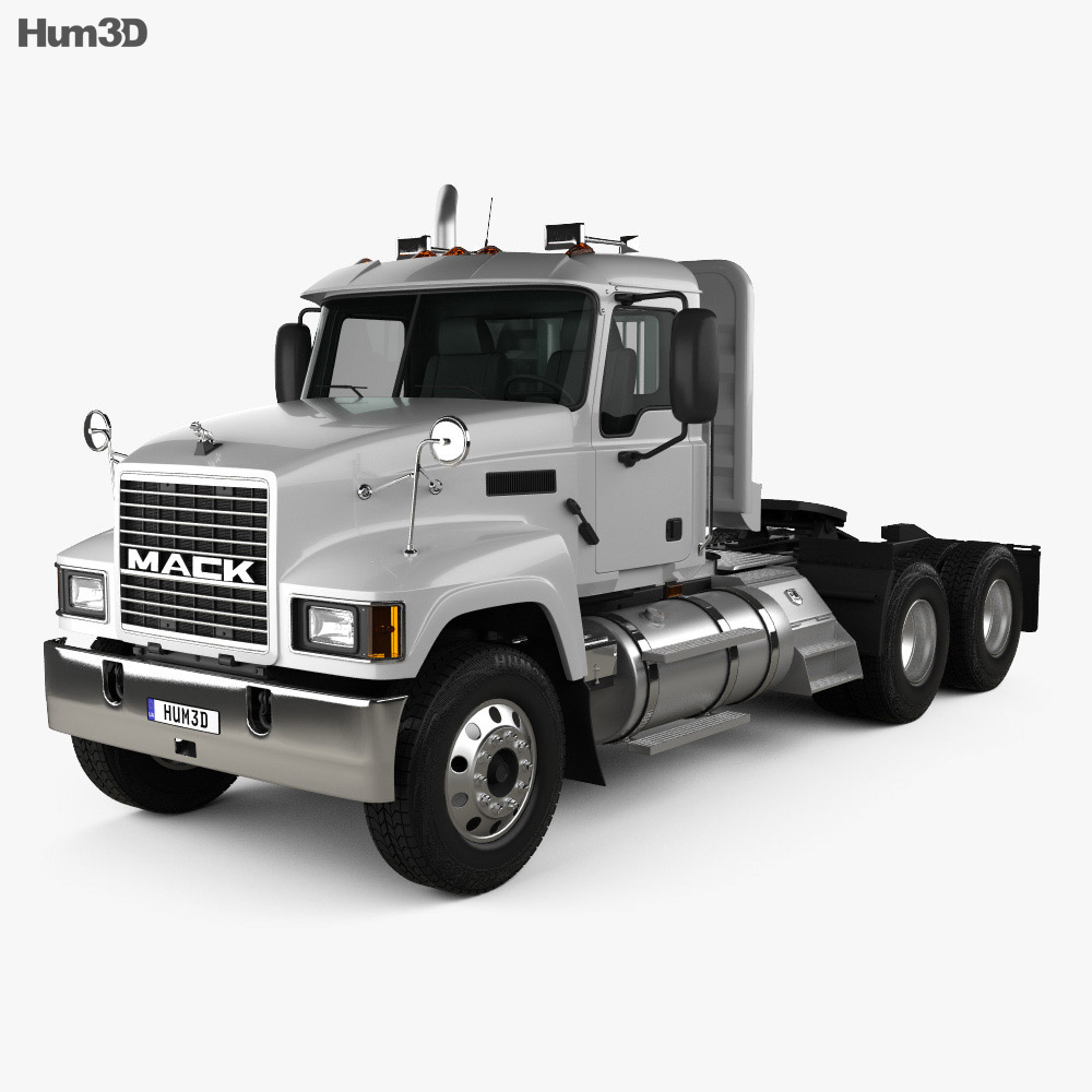 Mack CH613 Tractor Truck 2006 3d model