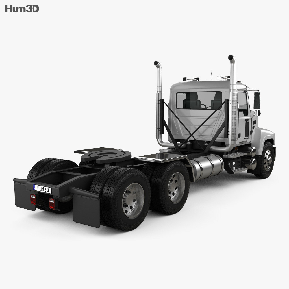 Mack Pinnacle Tractor Truck 2006 3d model