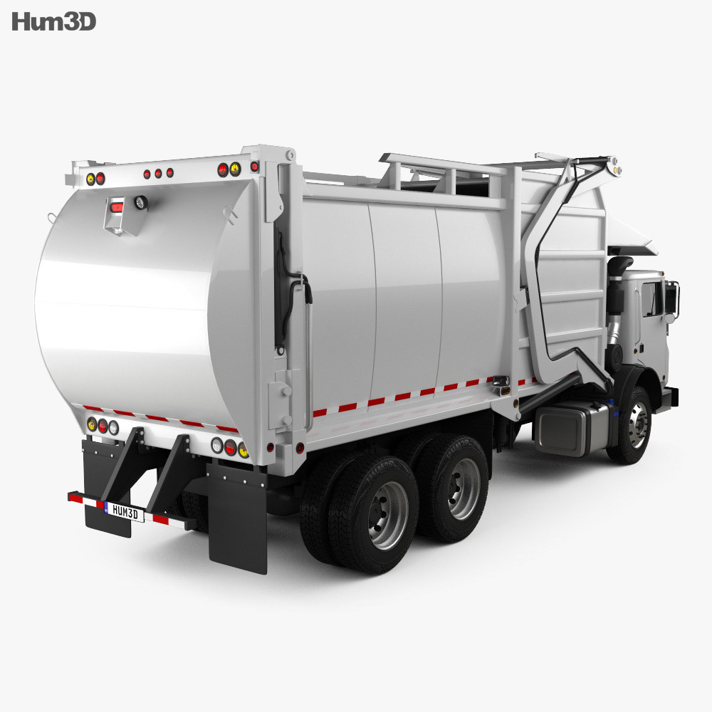 Mack TerraPro MRU613 Garbage Hercules Truck 2017 3d model