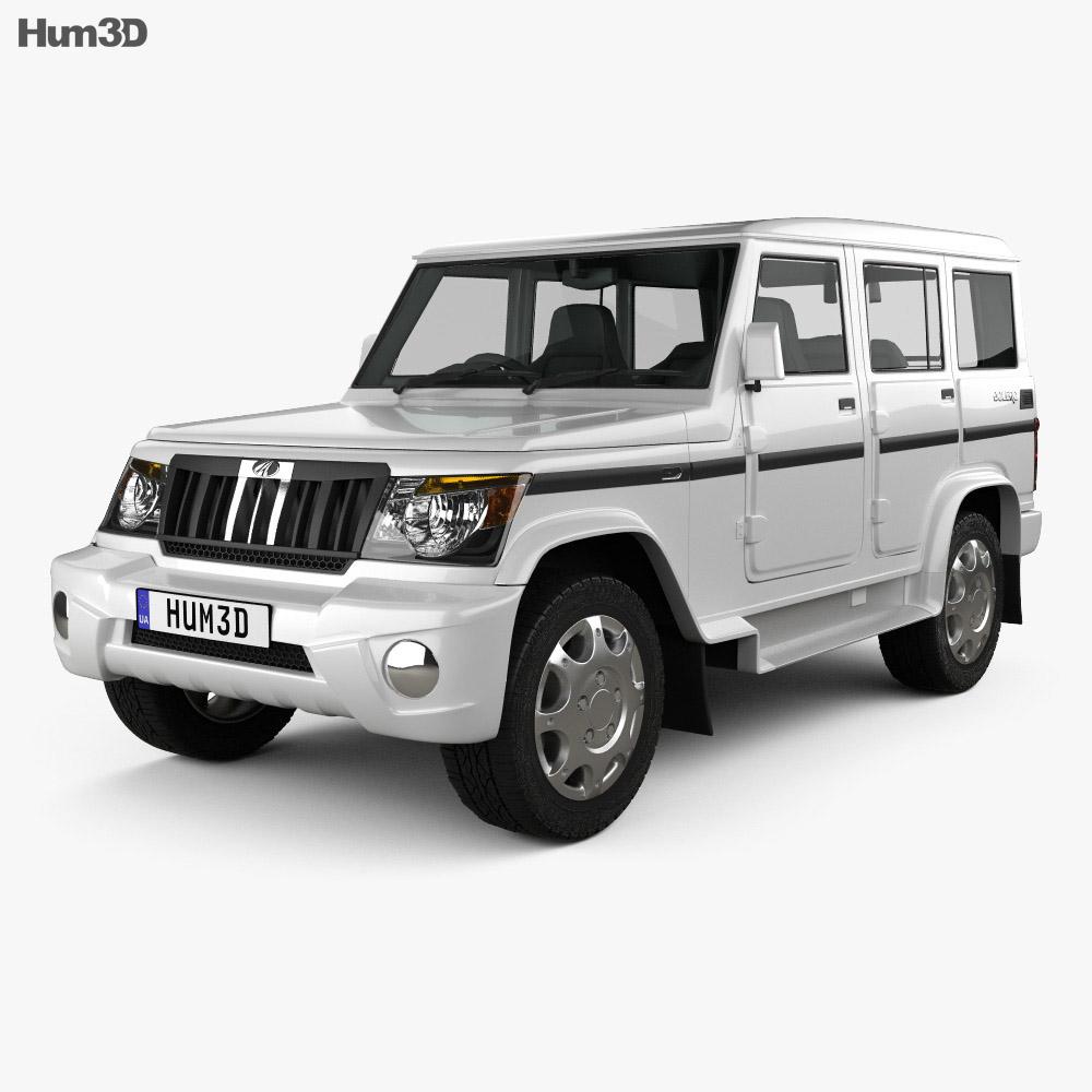 Mahindra Bolero 2001 3d model