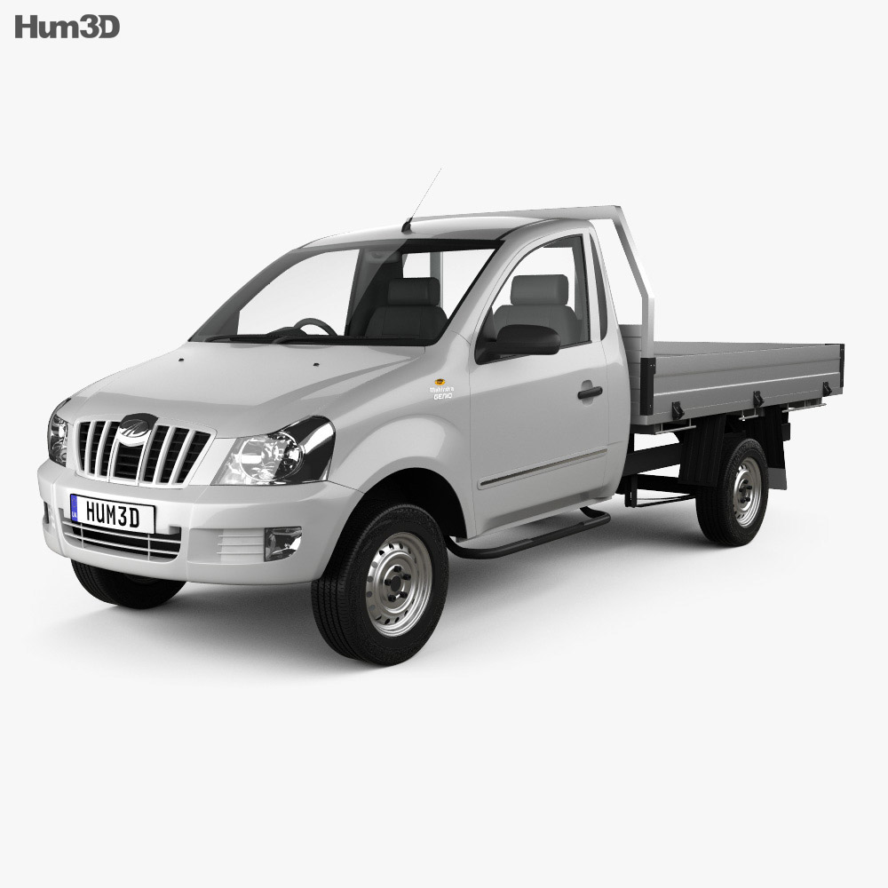 Mahindra Genio Single Cab Pickup 2011 3d model