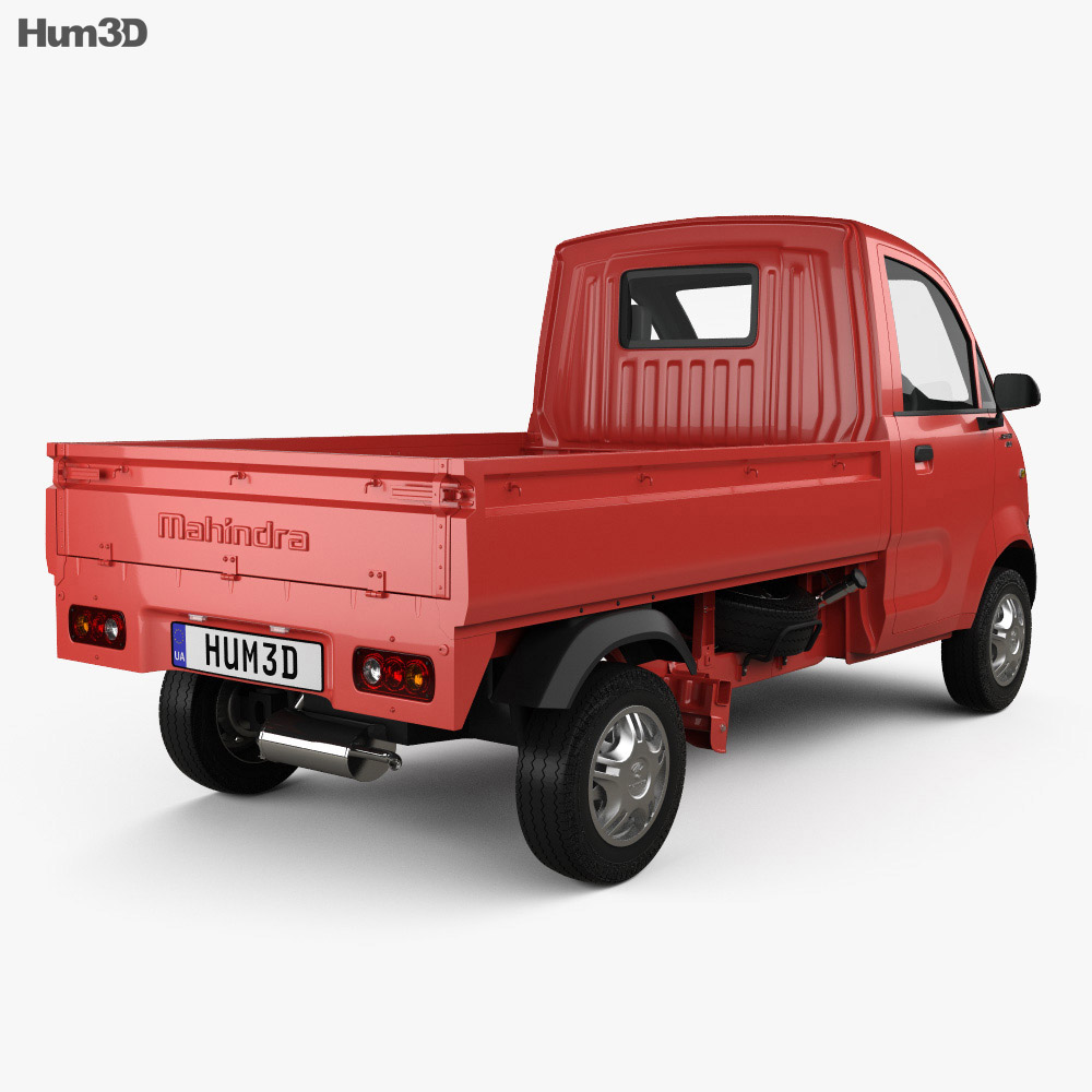 Mahindra Jeeto 2015 3d model
