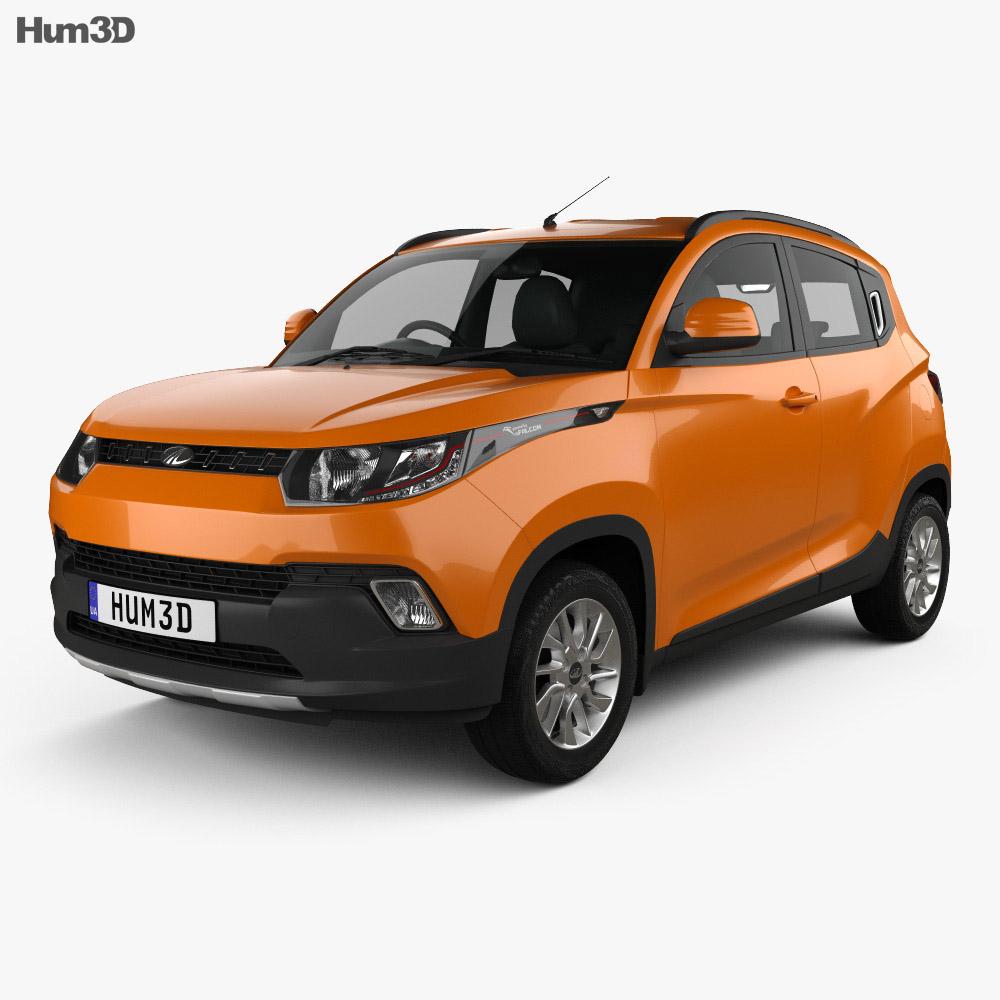 Mahindra KUV 100 2015 3d model