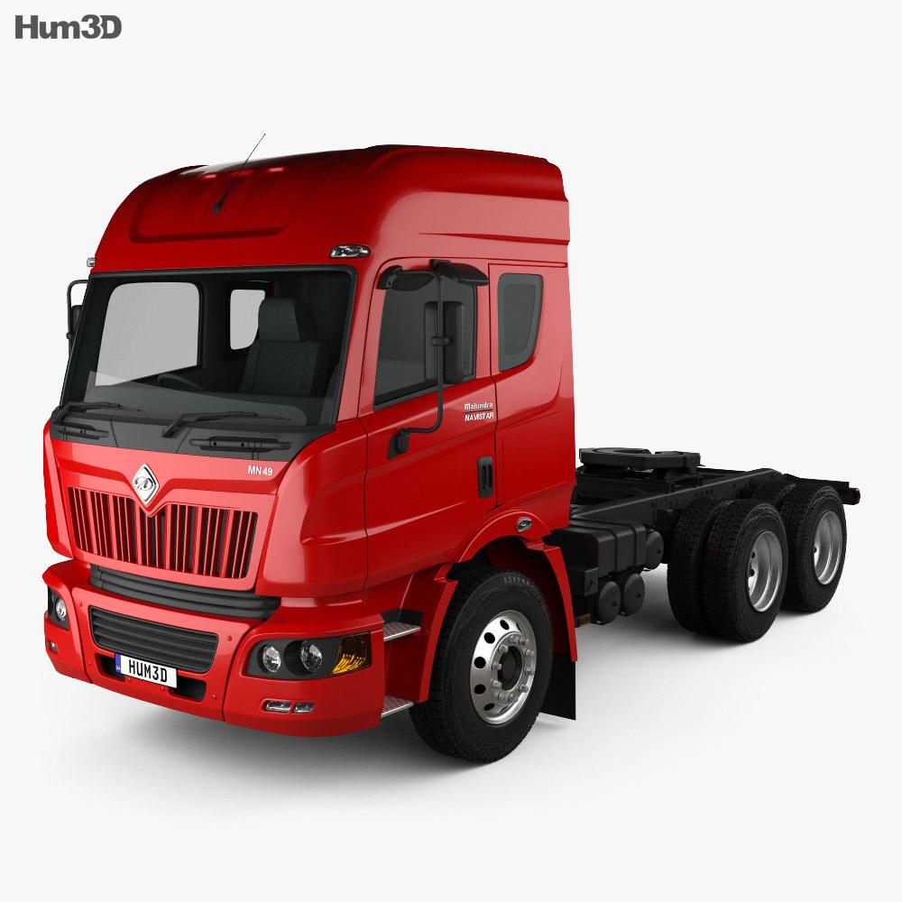 Mahindra MN 49 Tractor Truck 2010 3d model