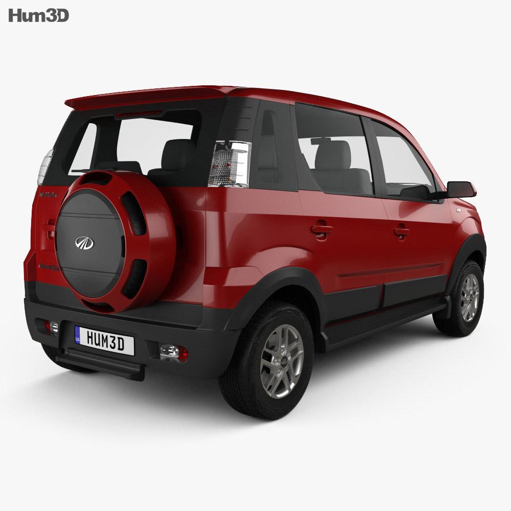 Mahindra NuvoSport 2016 3d model