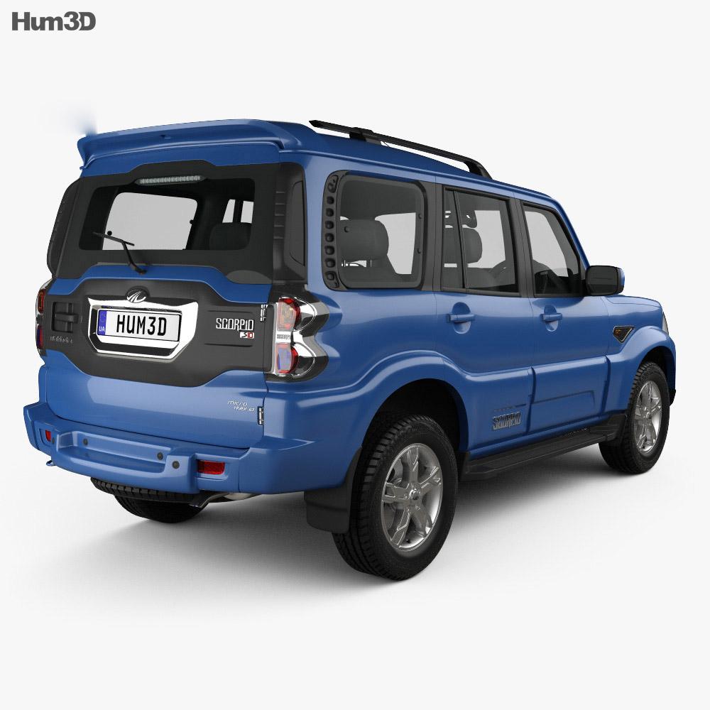 Mahindra Scorpio 2015 3d model