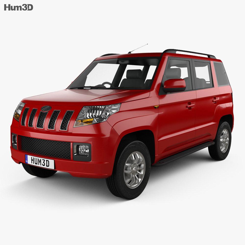 Discount Car Parts >> Mahindra TUV300 2015 3D model - Humster3D