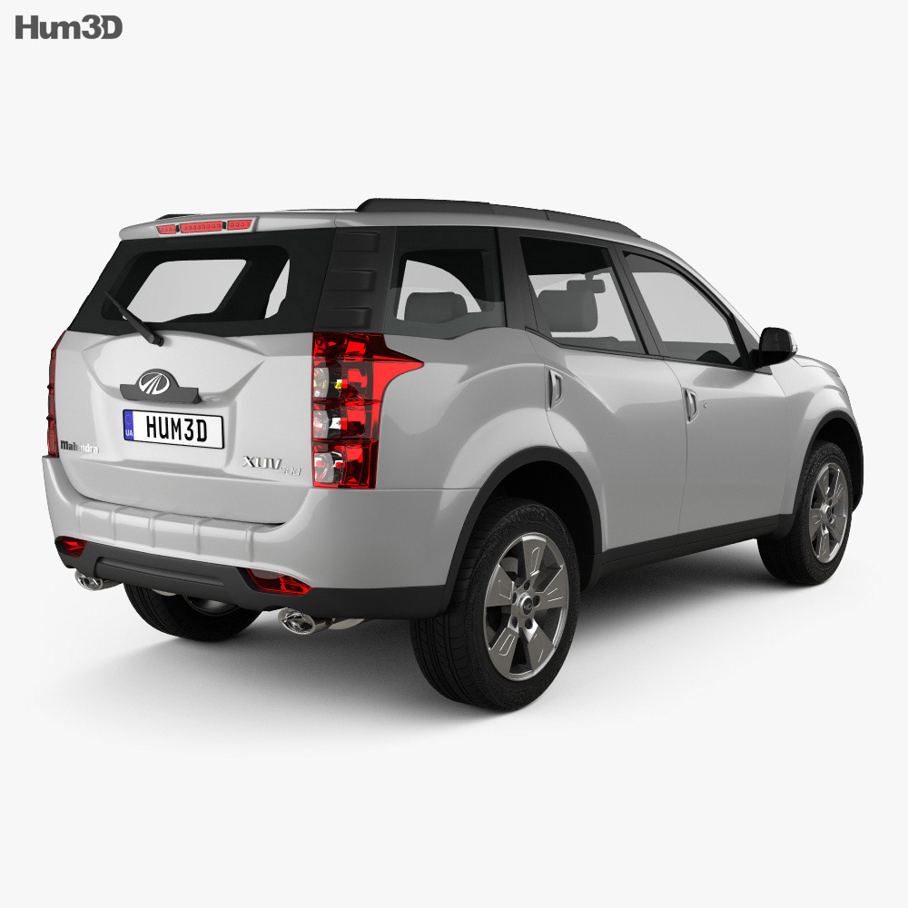 Mahindra XUV500 2011 3d model