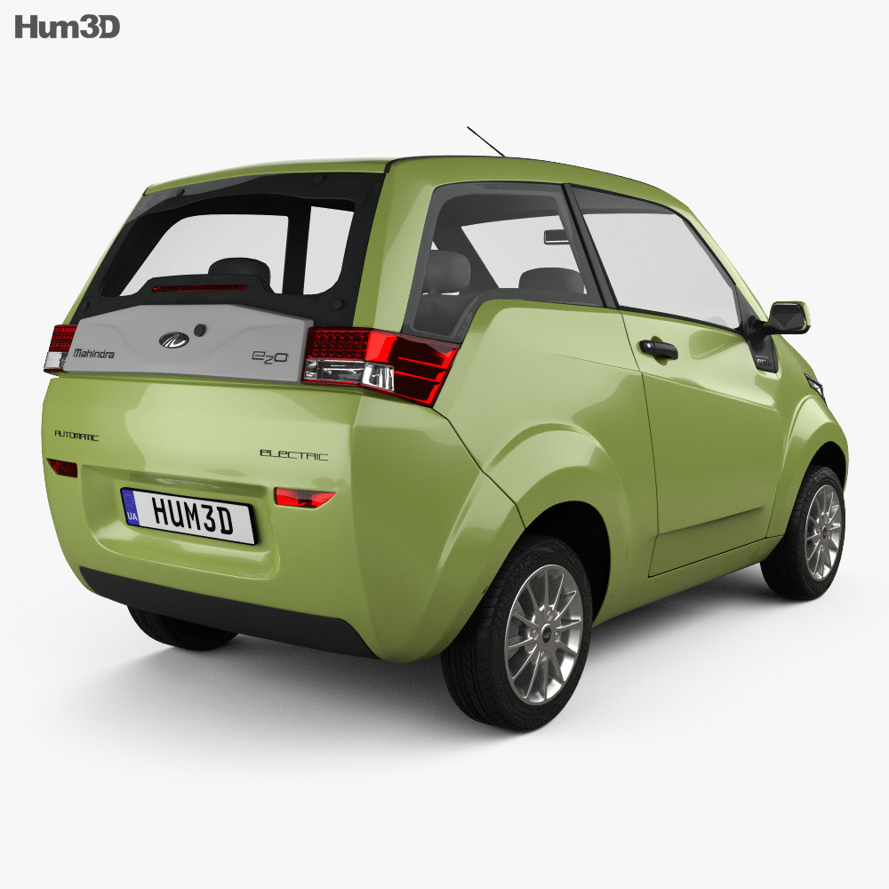 Mahindra e2o 2013 3d model