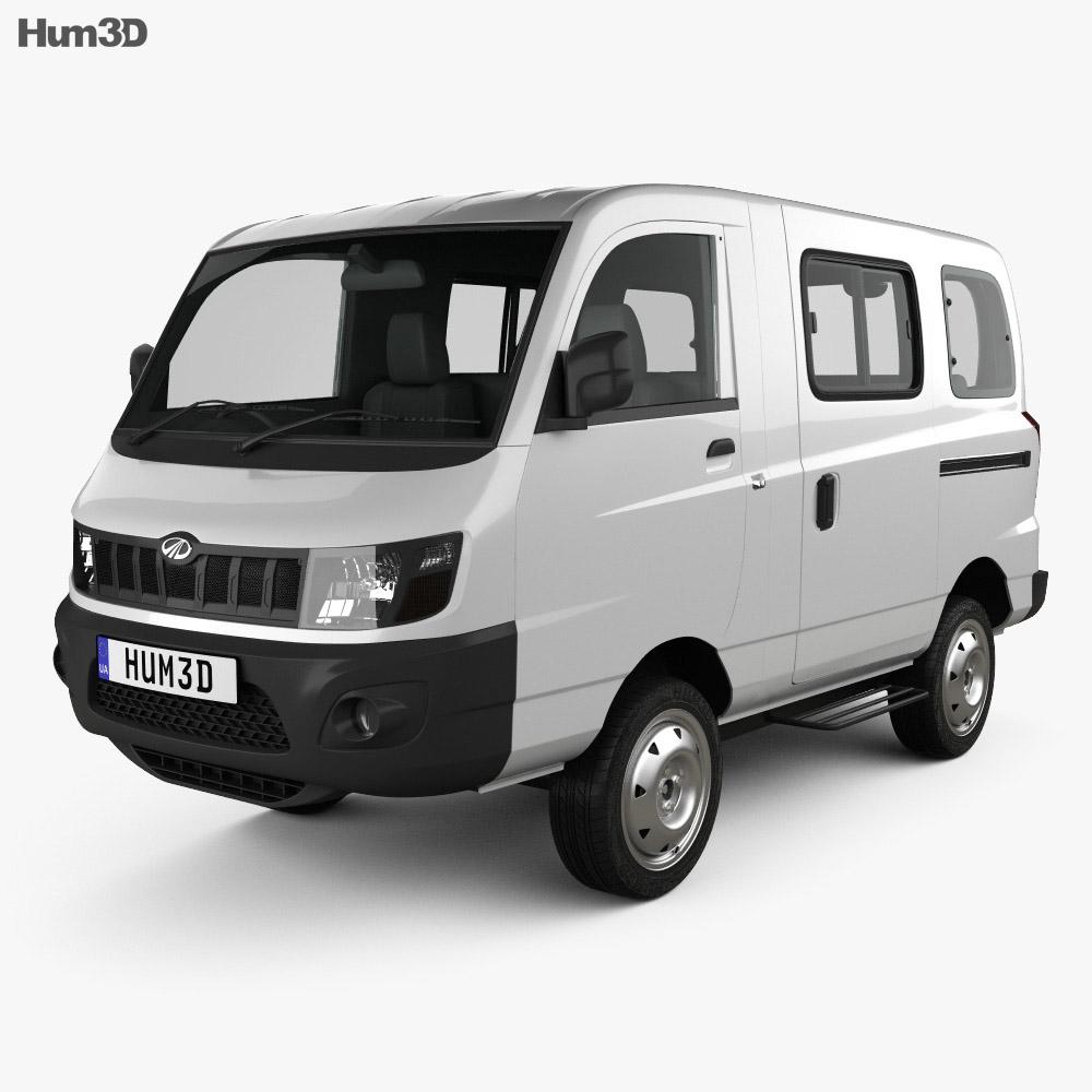 Mahindra eSupro Van 2017 3d model