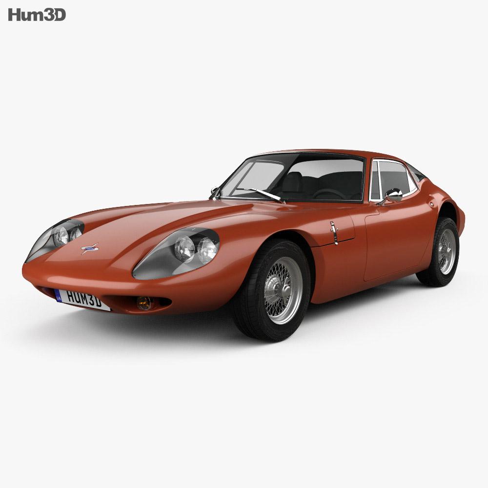 3D model of Marcos 1600 GT 1972