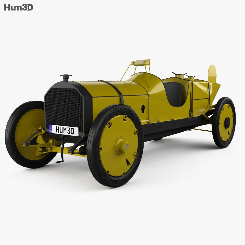 3D model of Marmon-Herrington Wasp 1909