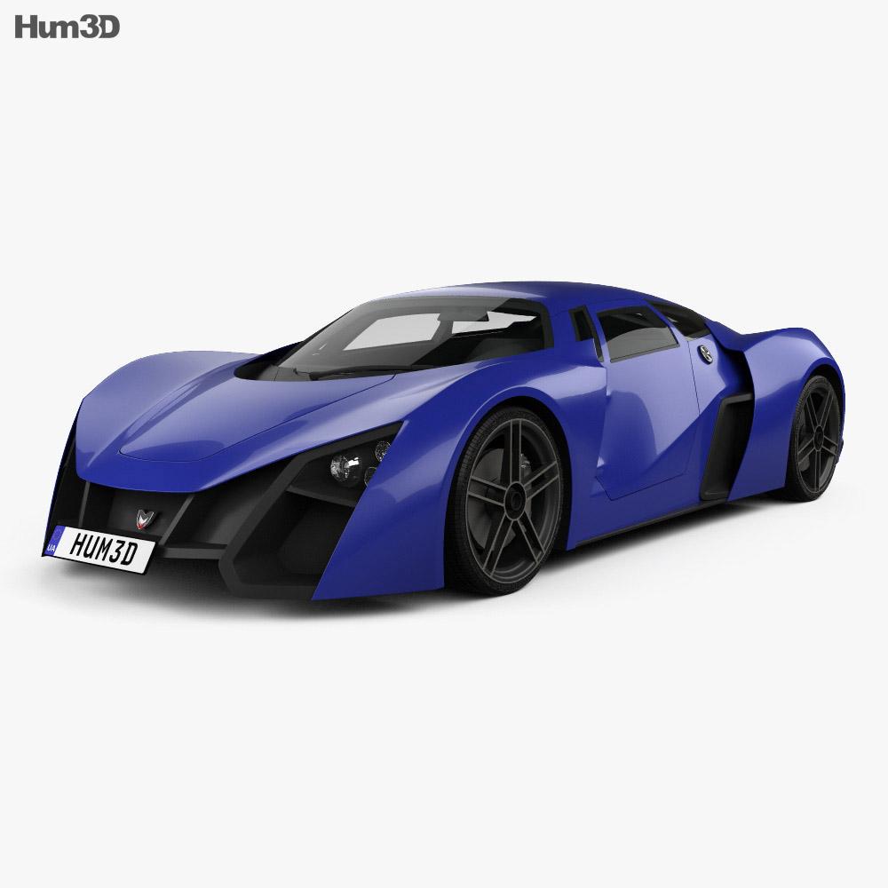 3D model of Marussia B2 2010