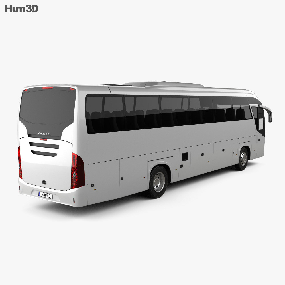Mascarello Roma R6 Bus 2019 3d model