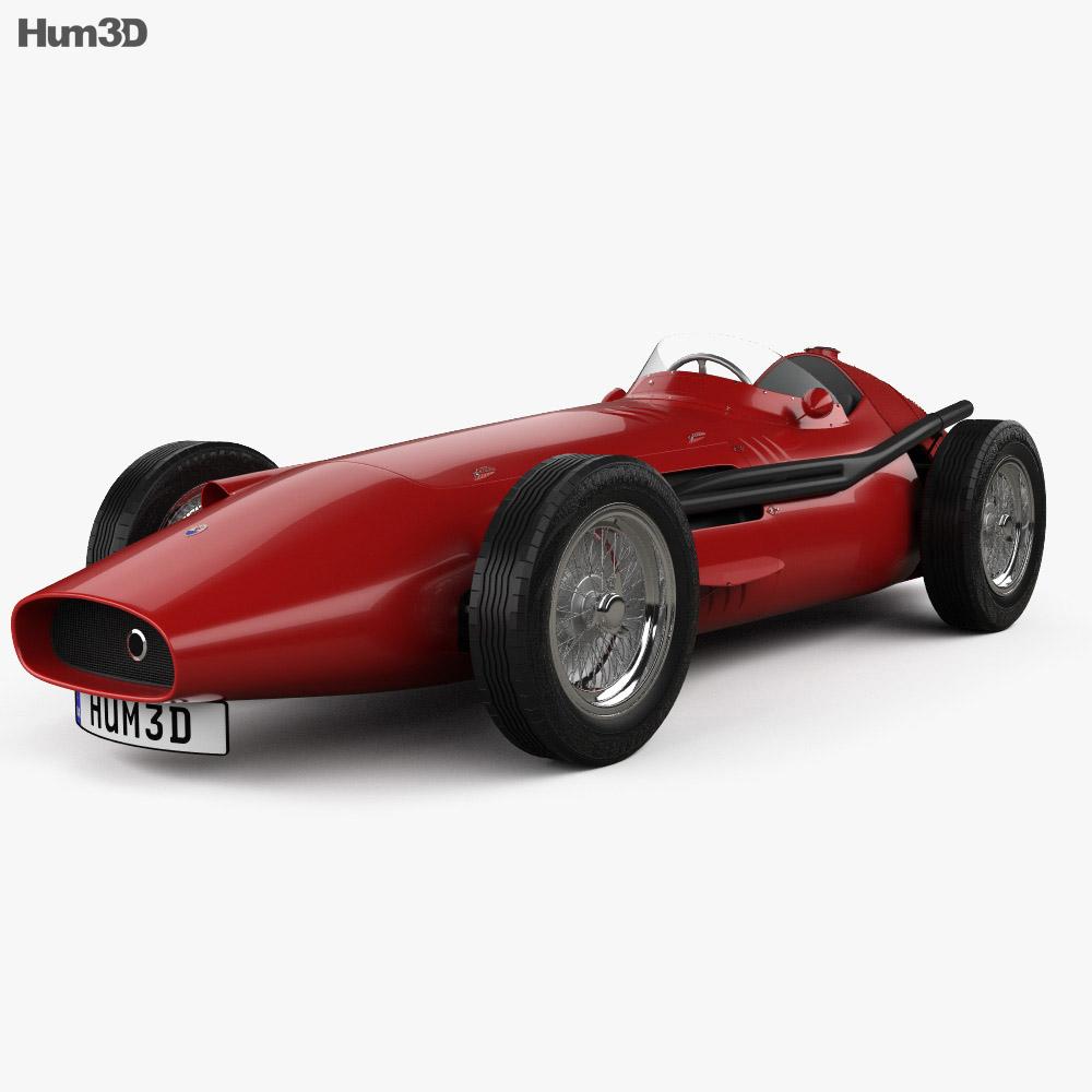 Maserati 250F 1954 3Dモデル