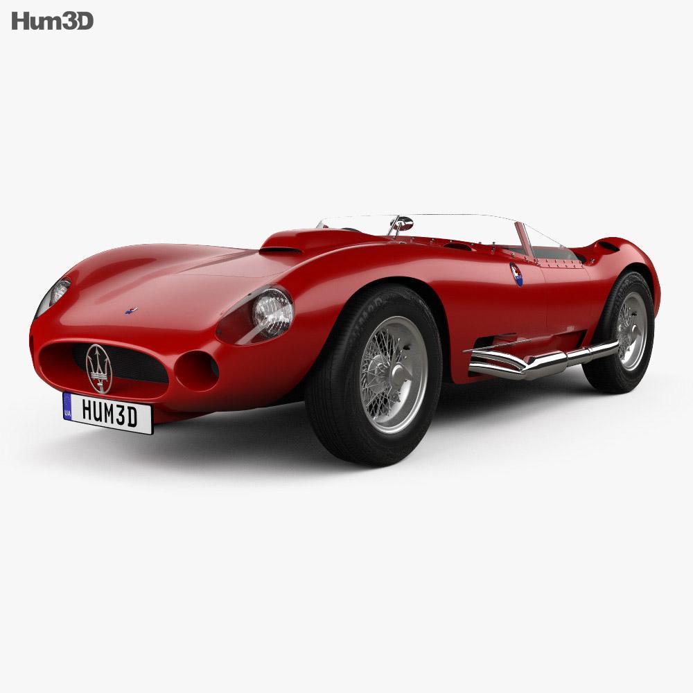 Maserati 450S 1956 3d model