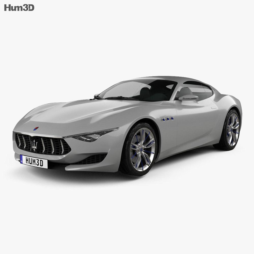 Maserati Alfieri 2014 3d model