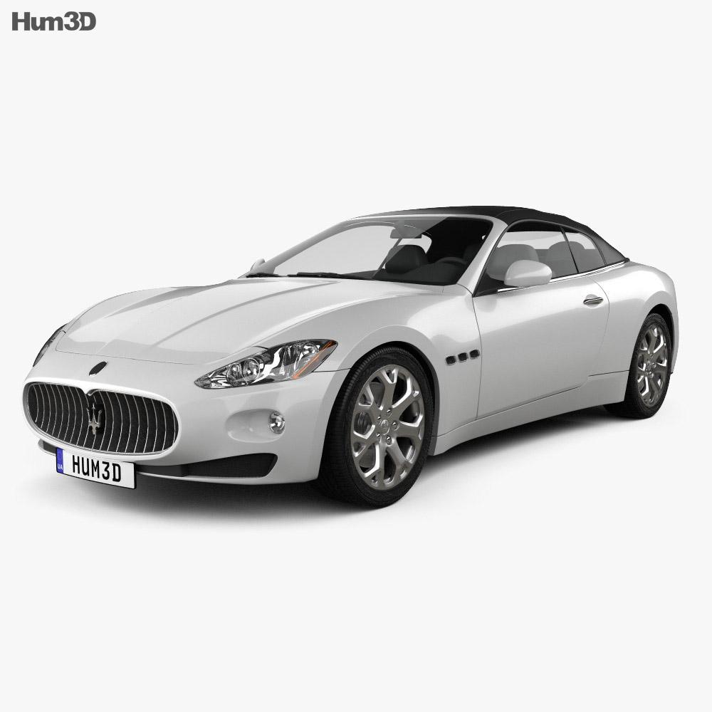 Maserati GranCabrio 2011 3d model