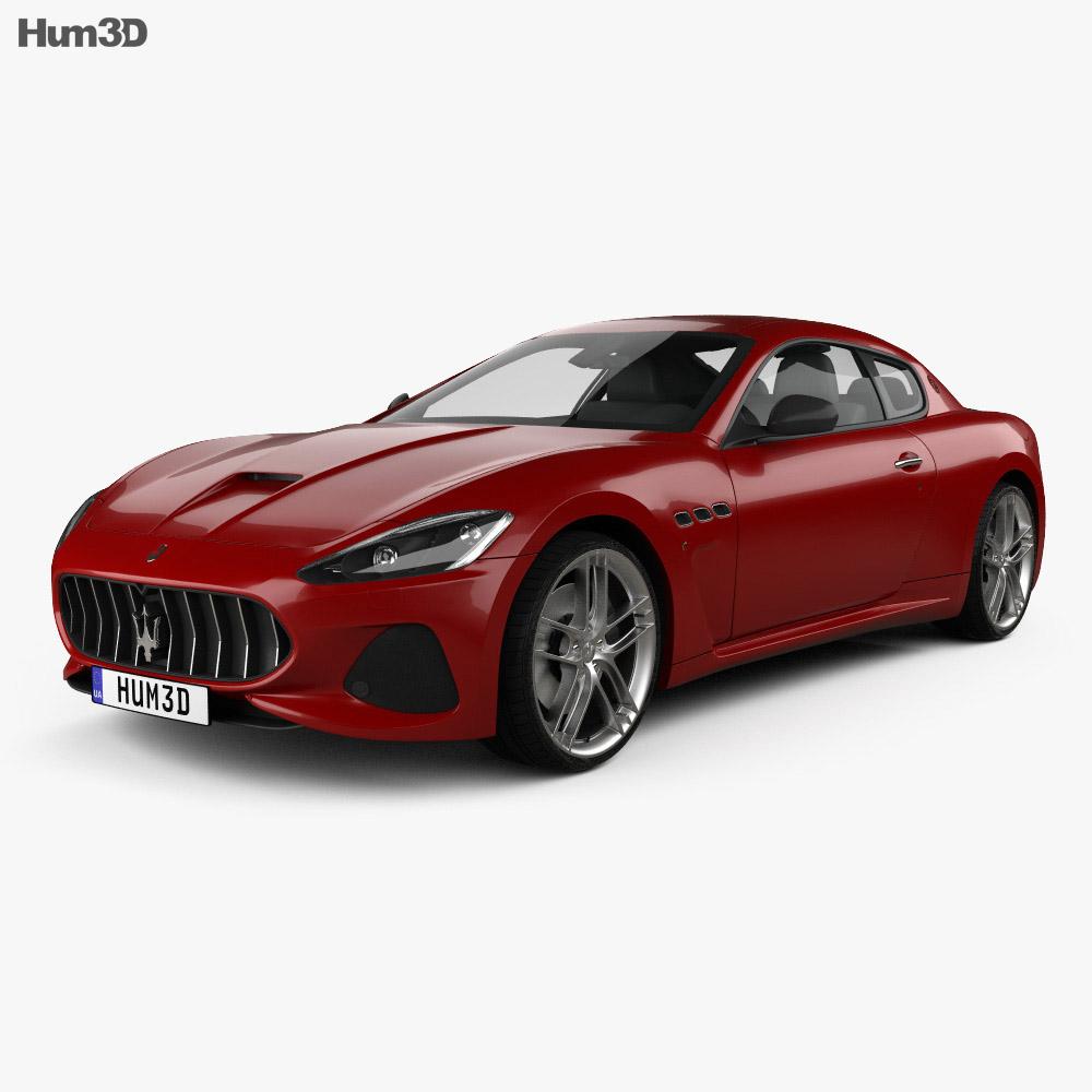 Maserati GranTurismo MC 2017 3D Model