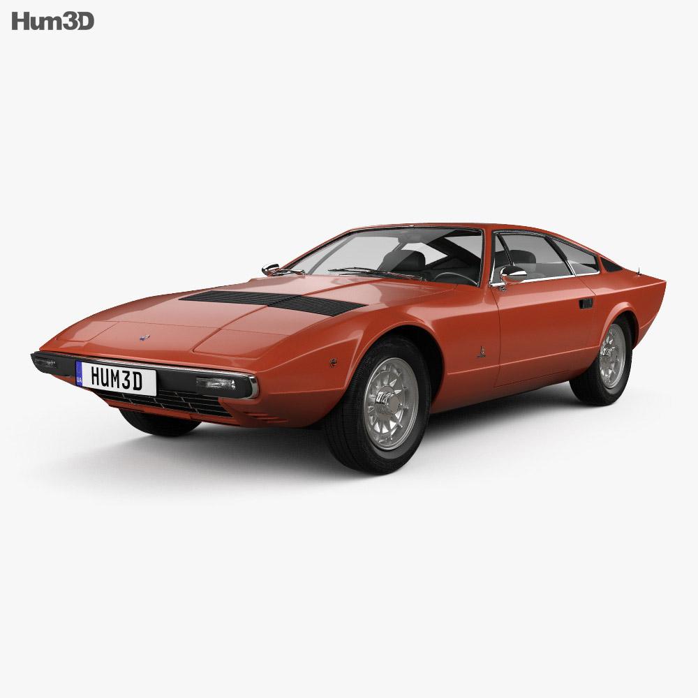Maserati Khamsin 1977 3d model
