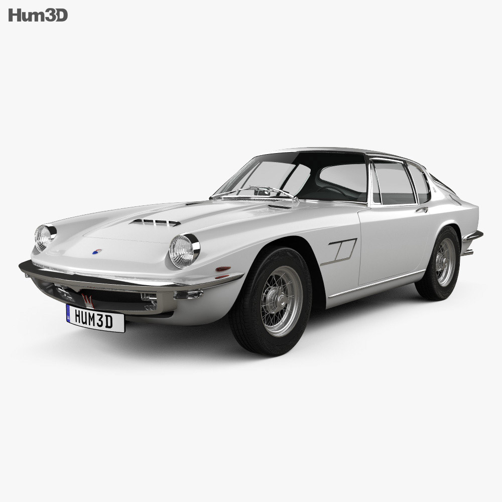 Maserati Mistral 1970 3d model