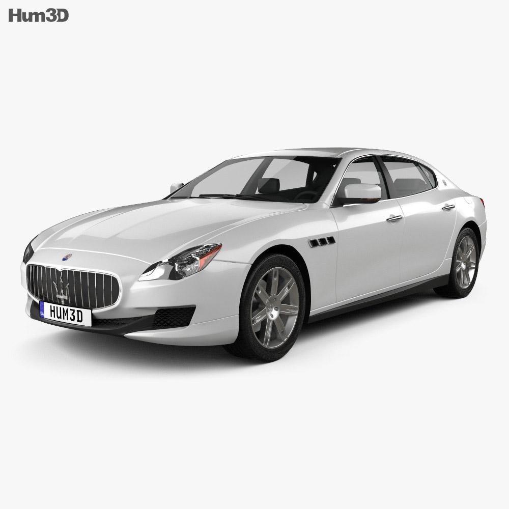 Maserati Quattroporte 2013 3d model