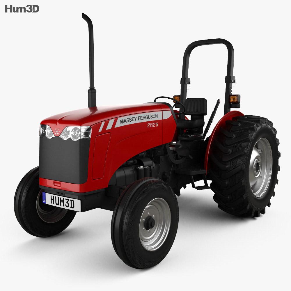 Massey-Ferguson 2625 2012 3d model