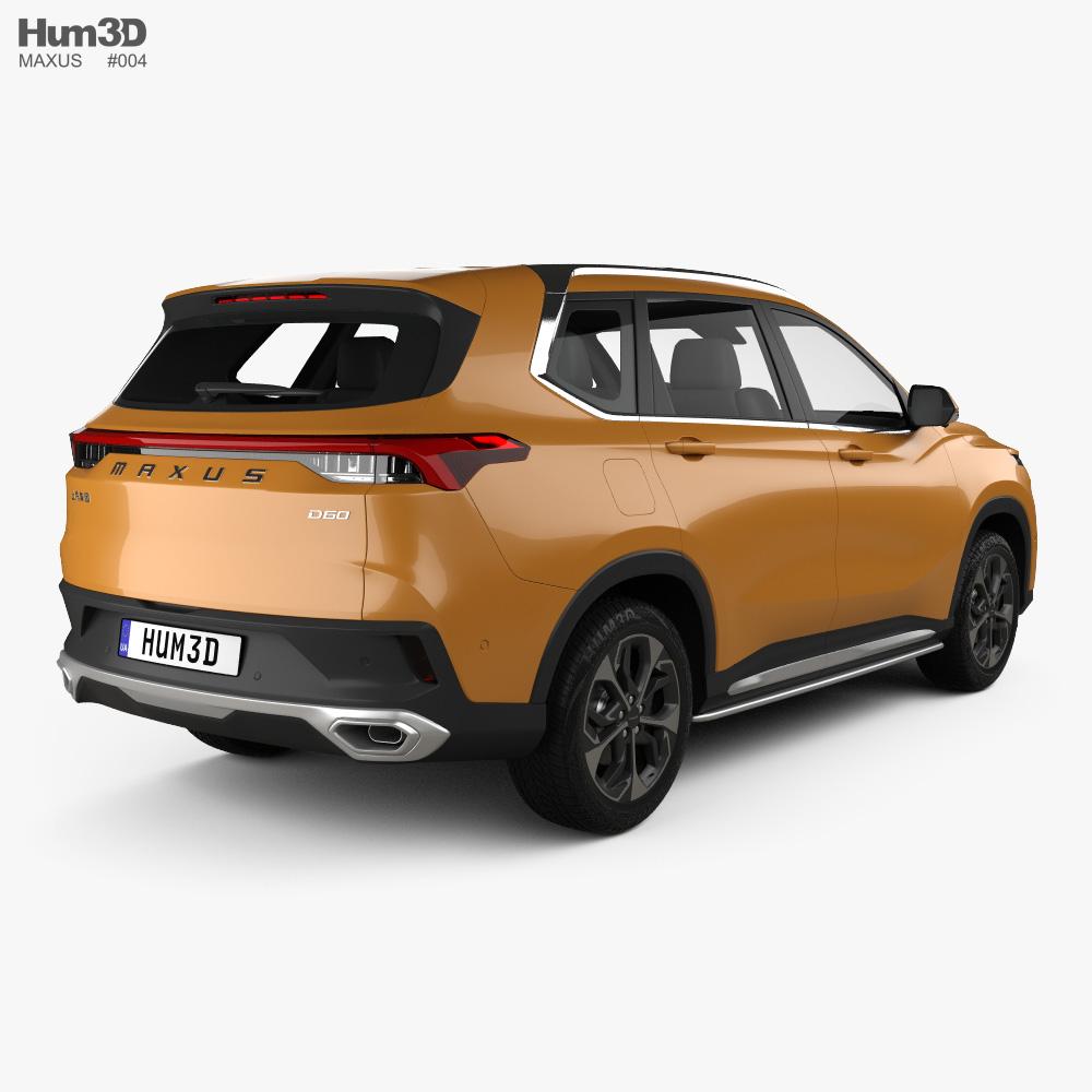 Maxus D60 2019 3d model
