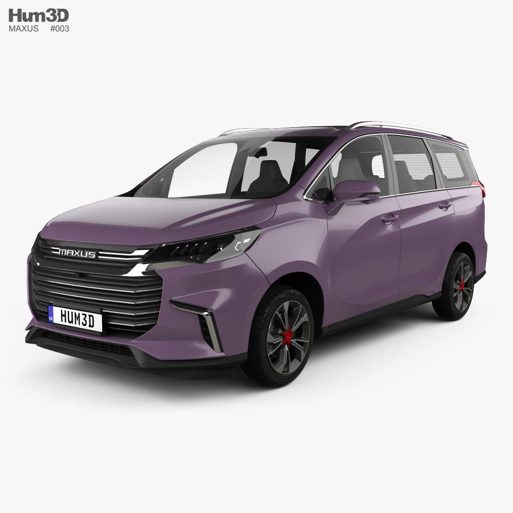 Maxus G50 2018 3d model