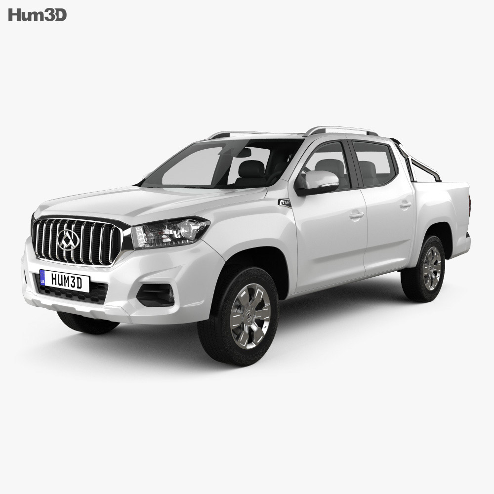 Maxus T60 Double Cab 2017 3d model