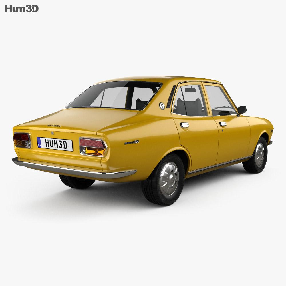 Mazda Capella (616) sedan 1974 3d model