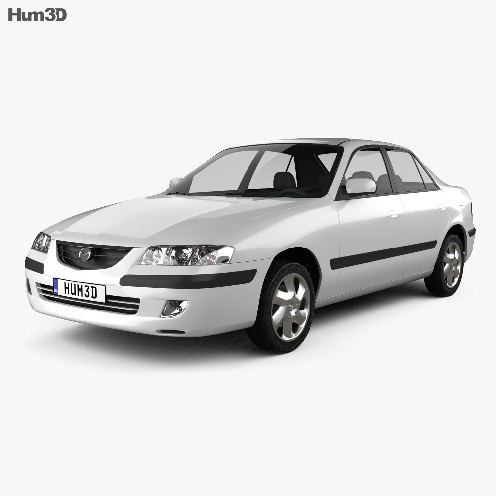 Mazda 626 (GF) sedan 1998 3d model