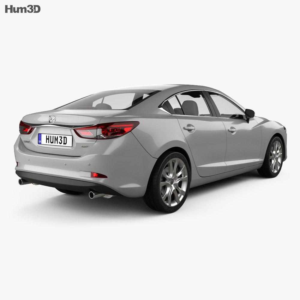 Mazda 6 GJ 2015 3d model