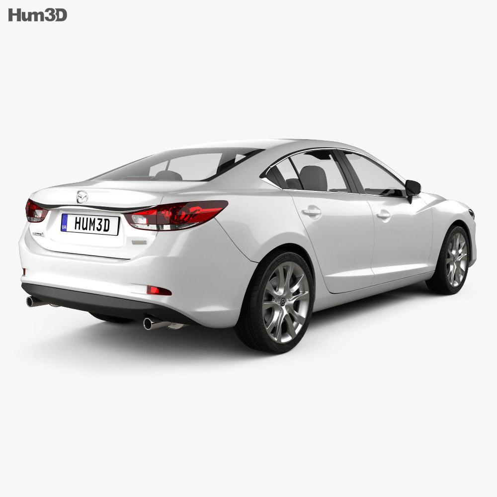 Mazda 6 sedan 2013 3d model