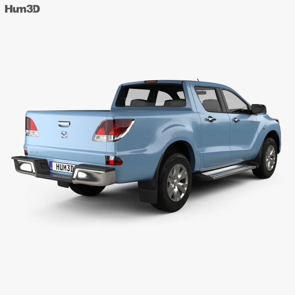 Mazda BT-50 Dual Cab 2012 3d model
