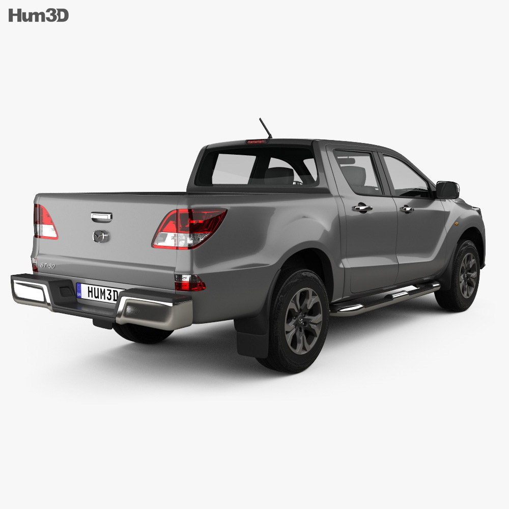 Mazda BT-50 Double Cab 2018 3d model