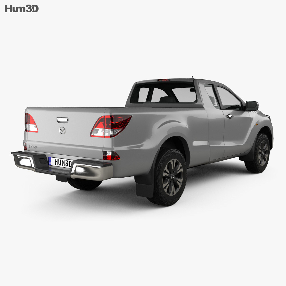 Mazda BT-50 Freestyle Cab 2016 3d model