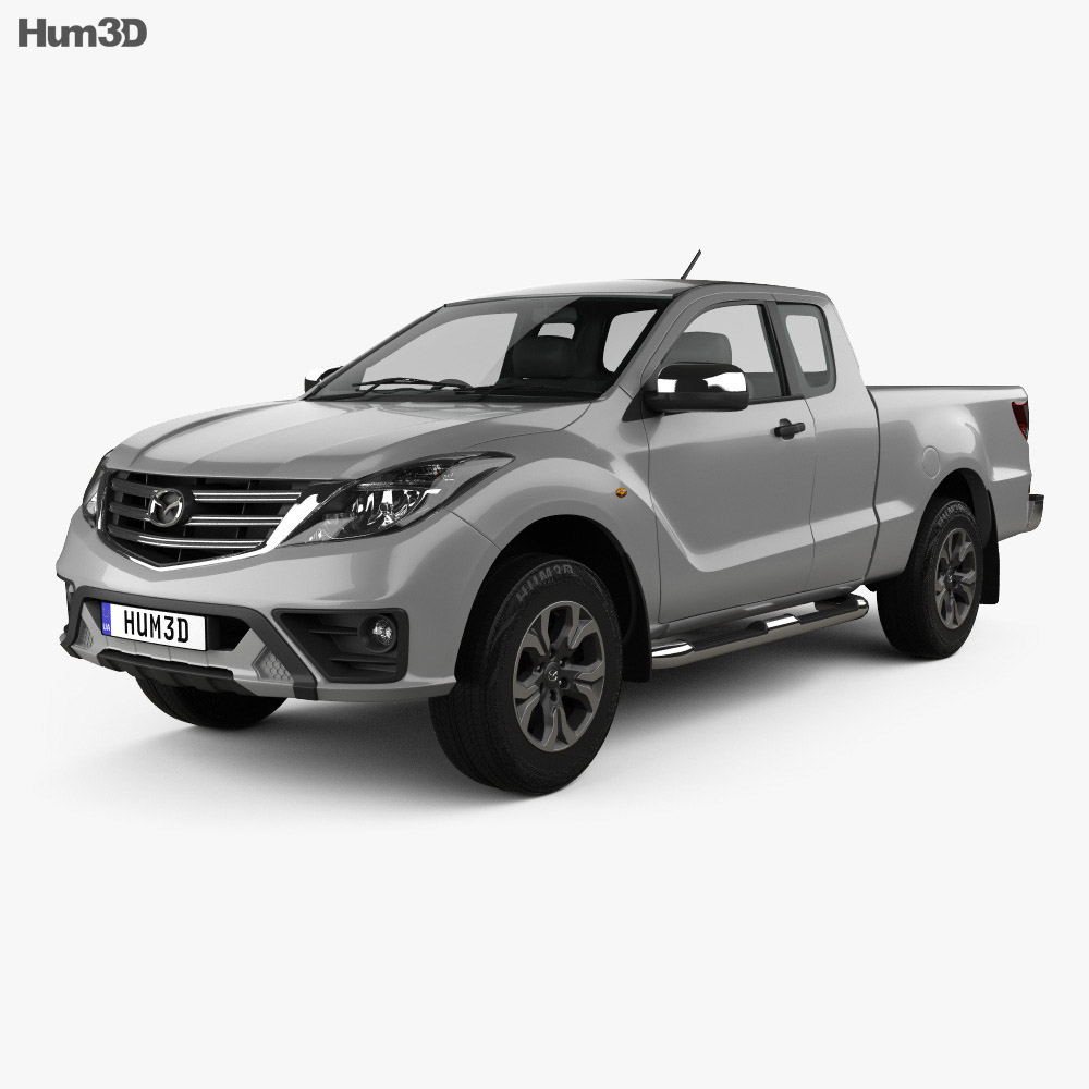 Mazda BT-50 Freestyle Cab 2018 3d model