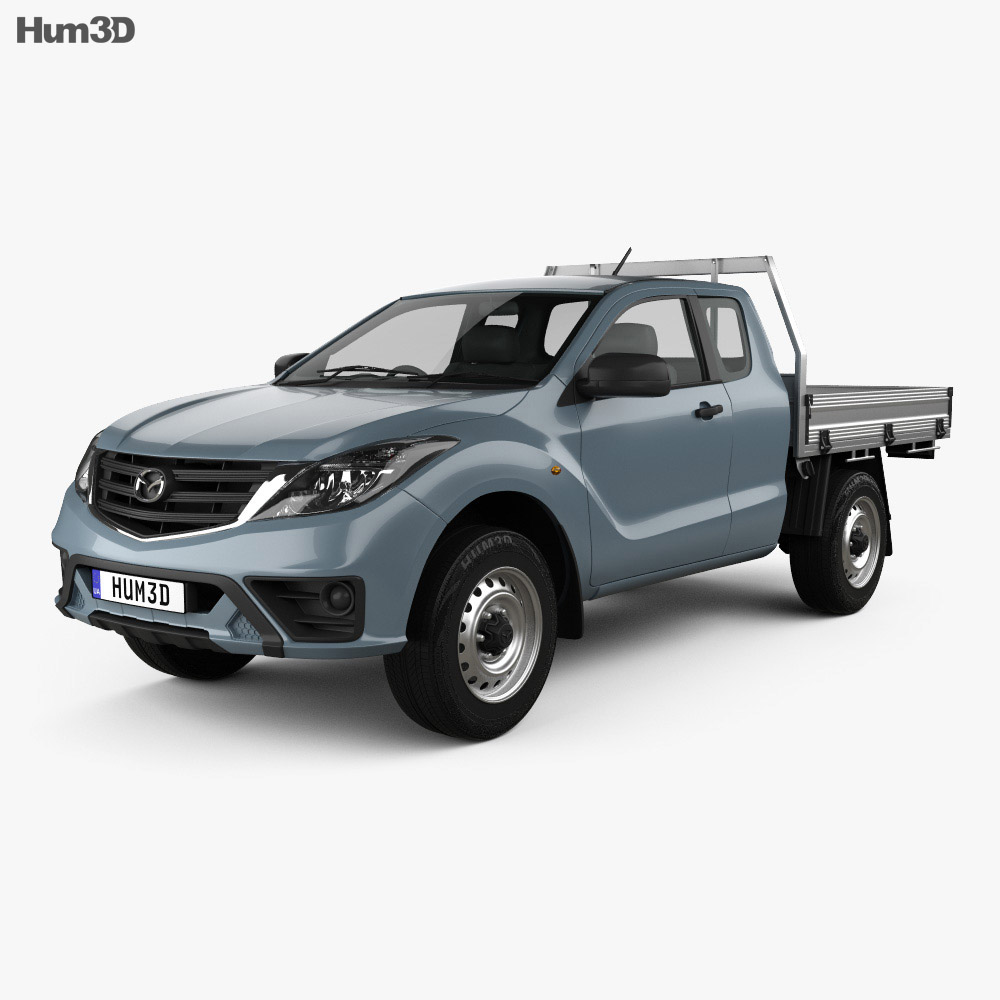 Mazda BT-50 Freestyle Cab Alloy Tray 2018 3d model