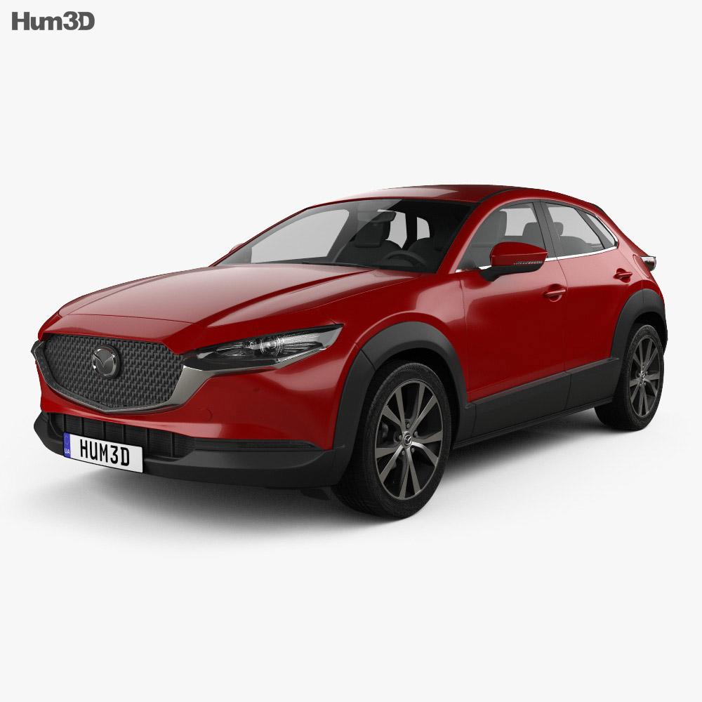 Mazda CX-30 2020 3d model
